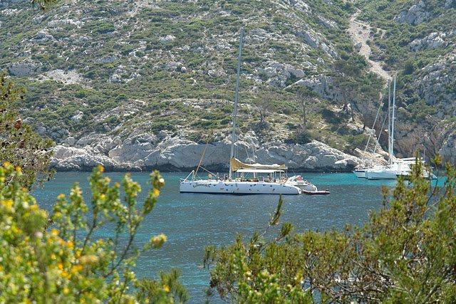 Le catamaran Levantin