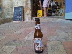 La cagole, bière marseillaise